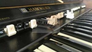 hammond orgel grandee drawbars